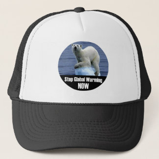 Stop Global Warming Now Trucker Hat