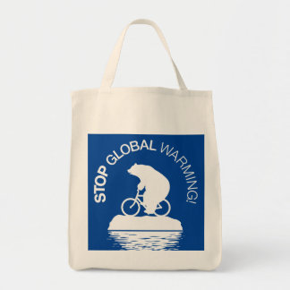 Stop Global Warming: Reusable Grocery Bag
