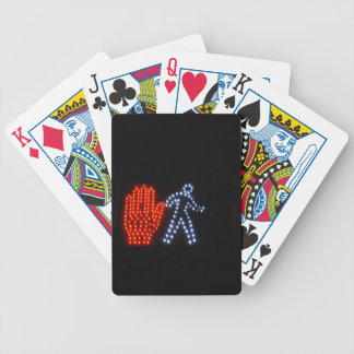 Stop Go Bicycle Playing Cards