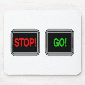 Stop Go Mousepad