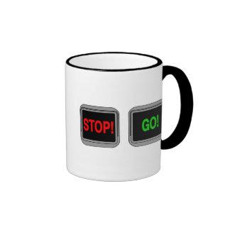 Stop Go Ringer Coffee Mug