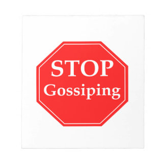 Stop Gossiping #2 Notepads