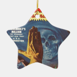 Stop, Grim reaper! Ceramic Ornament