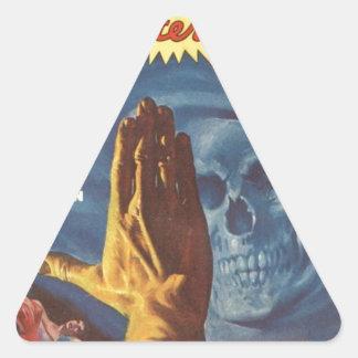 Stop, Grim reaper! Triangle Sticker