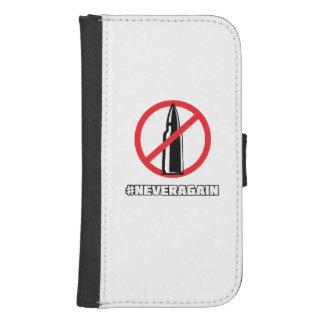 Stop gun violance never again samsung s4 wallet case