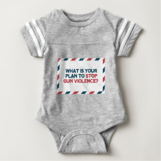 Stop Gun Violence Baby Bodysuit