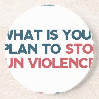 Stop Gun Violence Coaster