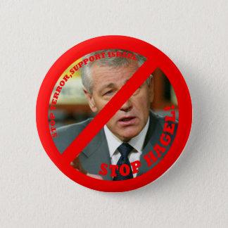 Stop Hagel!! 2 Inch Round Button