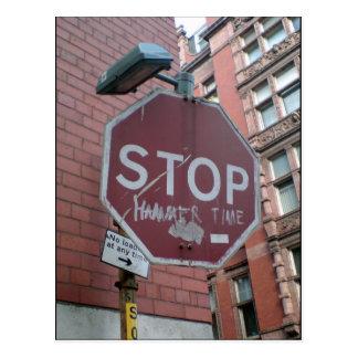 Stop Hammer Time Postcard