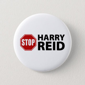 Stop Harry Reid 2 Inch Round Button