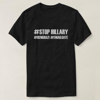 #Stop Hillary #Benghazi #Emailgate T-Shirt