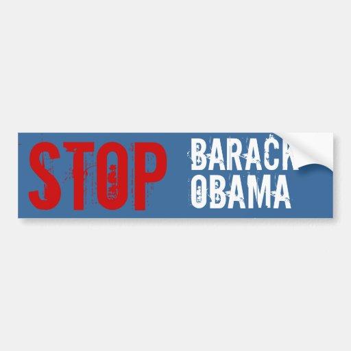 Stop Him Bumper Stickers