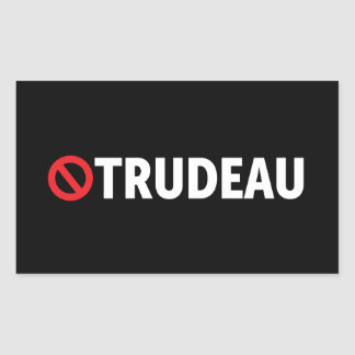 Stop Justin trudeau Canada Stickers