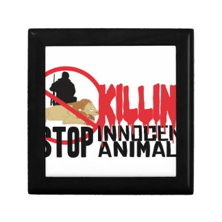 Stop Killing Animals Keepsake Box