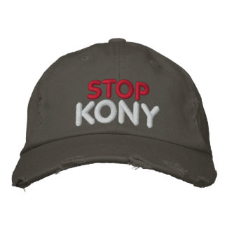 STOP KONY EMBROIDERED HAT