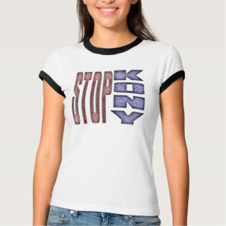 STOP KONY - Kids Crayon Colored Design T-Shirt