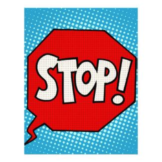 Stop Letterhead