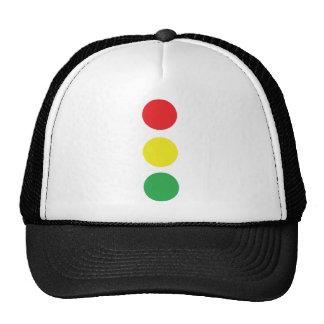 stop light icon trucker hat