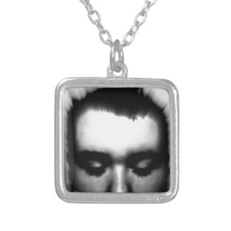 STOP LIVING A LIE SILVER PLATED NECKLACE