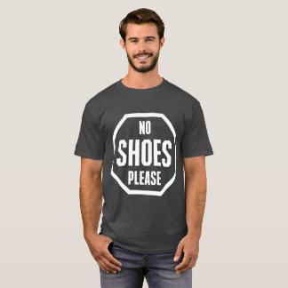 Stop No Shoes Please T-Shirt