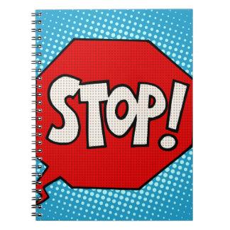 Stop Notebook