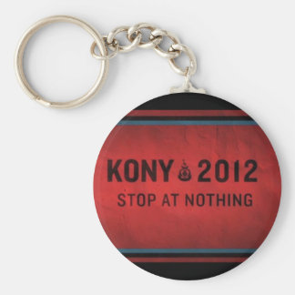 Stop @ Nothing Keychain