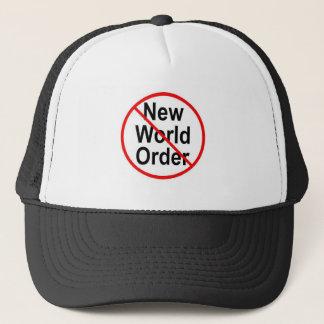 Stop NWO Trucker Hat