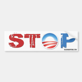 Stop Obama 2012 Bumper Sticker