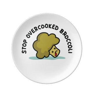 Stop Overcooked Broccoli Plate