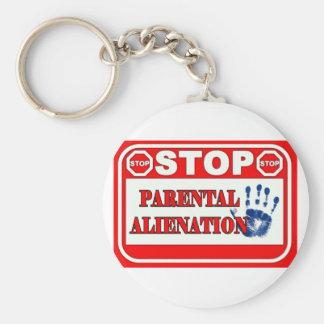 Stop Parental Alienation Basic Round Button Keychain