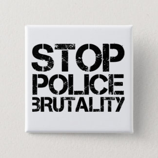 Stop Police Brutality 2 Inch Square Button
