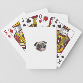 Stop Pugging Me Pug Funny Dog Gifts Playing Cards