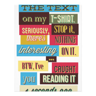 stop reading the texts, cool fresh design letterhead