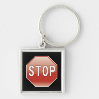 Stop | Road Signs Keychain