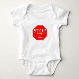 Stop Rubeness Baby Bodysuit