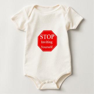 Stop Rudeness #2 Baby Bodysuit