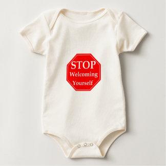 Stop Rudeness Baby Bodysuit
