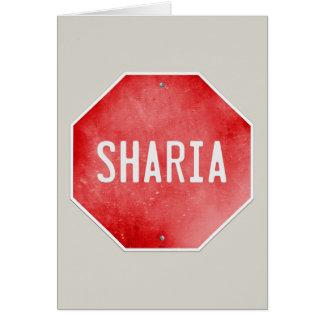 Stop Sharia Card