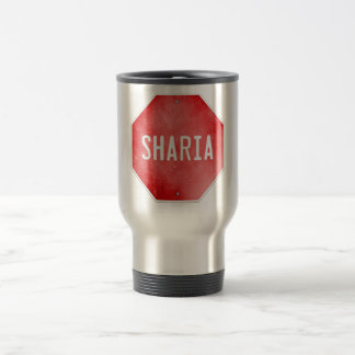 Stop Sharia Travel Mug