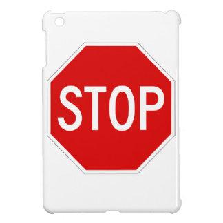 Stop sign iPad mini cover
