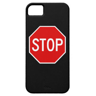 Stop sign iPhone 5 cover