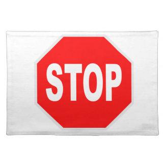 Stop Sign Place Mats