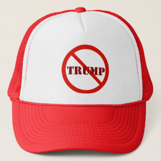 Stop Sign Red STOP TRUMP 2016 Elections Republican Trucker Hat