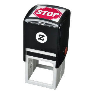 STOP Sign Self-inking Stamp