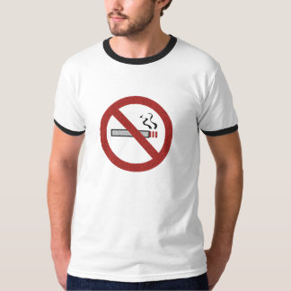 Stop Smoking Cigarette Custom T-shirts