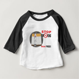 Stop Smoking Reminders - No More Butts Baby T-Shirt