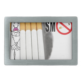 Stop Smoking Reminders - No More Butts Belt Buckles