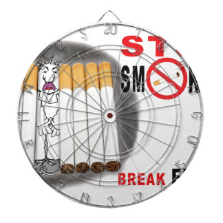 Stop Smoking Reminders - No More Butts Dartboard