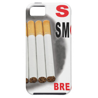 Stop Smoking Reminders - No More Butts iPhone 5 Cover