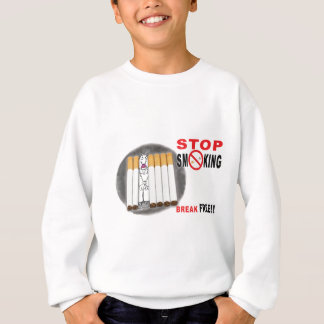 Stop Smoking Reminders - No More Butts Sweatshirt